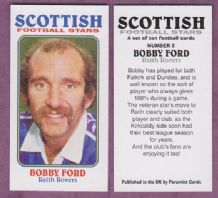 Raith Rovers Bobby Ford